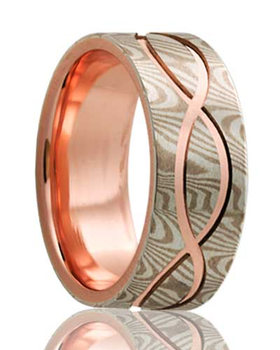 gane rings metal home mokume arts hfcfe james binnion