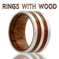 Rings With Wood